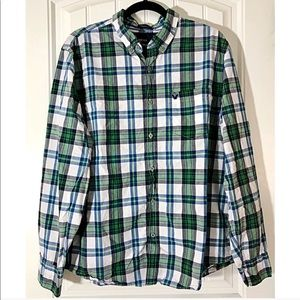 🆕 AMERICAN EAGLE Athletic Fit Button Down Shirt